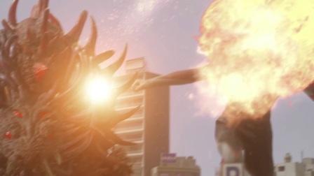 《欧布奥特曼 英雄传 日配版》19欧布奥特曼不敌大怪兽 人类的命运该何去何从