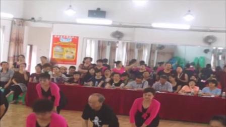 荣昌区老年大学舞蹈八班教学公开课,老师耐心