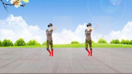 峰峰慧珍广场舞 一朵白云在蓝天飘过 水兵舞