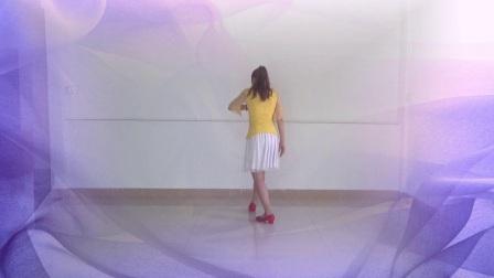 点击观看《官涌舞飞飞广场舞 情人 正反面示范 手把手口令分解视频教学》