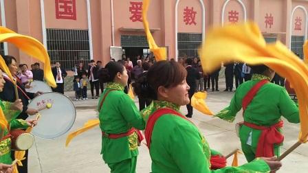 滨淮农场基督教堂腰鼓队