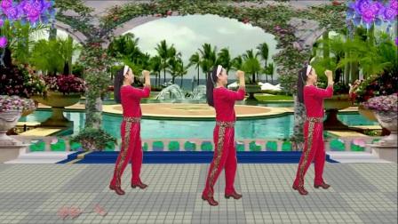 蓝天云广场舞 动感好看的32步教学分解 做你的男神 附教学