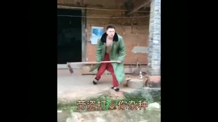 农村扛把子刘二狗搞笑视频, 看一遍笑一次