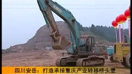 重慶衛視 直播重慶20100511四川安岳:打造承接重慶產業轉移頭堡