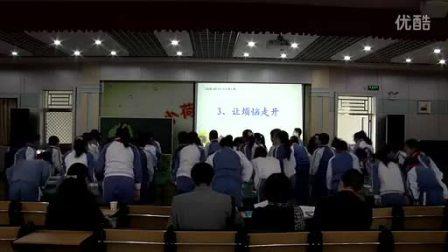 小学五年级思想品德让烦恼走开教学视频叶锦霞