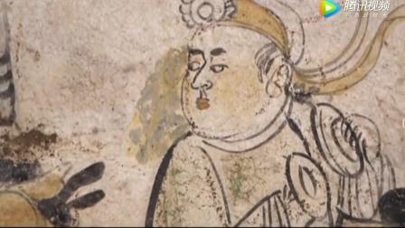 民警发现盗墓贼拍摄的古墓中精美壁画,让考古
