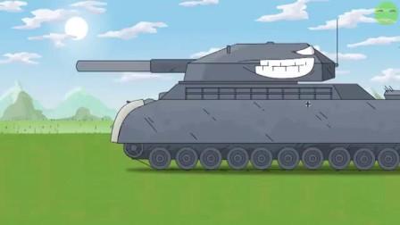 我在坦克世界搞笑动画-苏系KV-44 决战 德系P1000