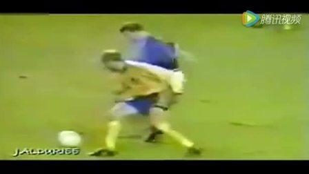 足球大师齐达内, 高速移动中接球停球无人能及