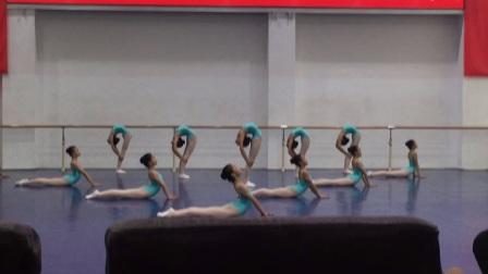 南方舞蹈学校2017-2018下学期期末考试(一年级2班)