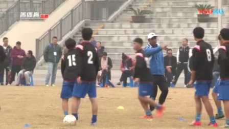 我在江苏外教足球训练课截取了一段小视频