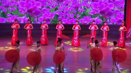 2018舞动春天 10 1 小小新娘花 老年大学模特三班 怀化排舞广场舞协会迎春联欢晚会