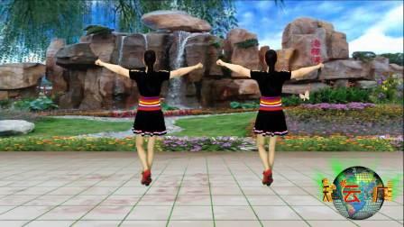 点击观看《蓝天云广场舞 动感64步 微信惹的祸 舞蹈动作分解视频教程 入门级舞蹈演示》
