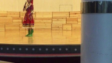 2018年阳格格参加青岛市首届青少年音乐大赛总决