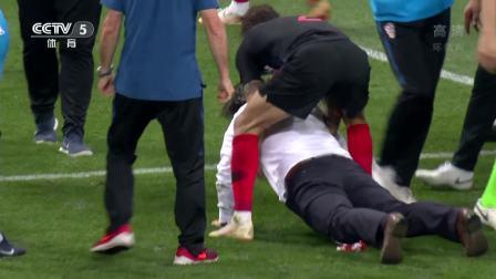 2018世界杯 半决赛 克罗地亚VS英格兰 【花絮】玩
