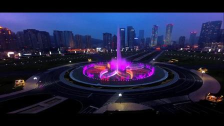 航拍大连 —— 星海广场 音乐喷泉(之四)3DR