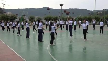 人教版高中体育与健康《篮球原地单手肩上投篮》(高中体育与健康教师参赛获奖课例教学视频)