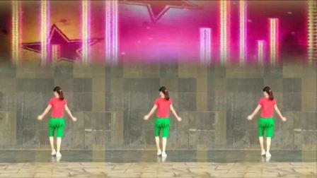 阿娜广场舞 藏爱 广场舞动作分解视频教程 初级正反面示范