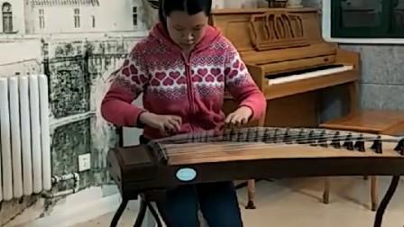 【网上音乐厅】古筝六级《丰收锣鼓》钰洺琴业