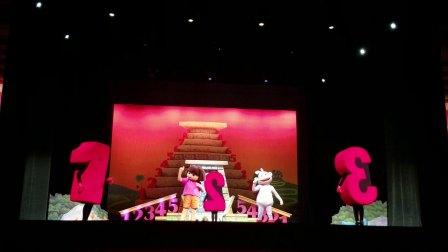 20180714_152940杨小安nengneng看音乐剧《爱探险的朵拉