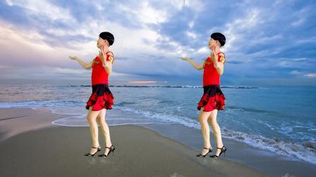 点击观看《静儿广场舞32步恰恰《爱在老地方》附口令分解》