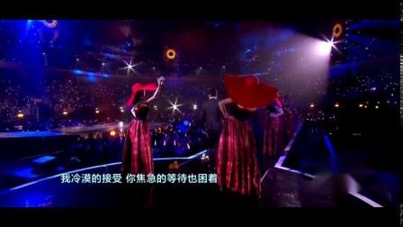 跨年演唱会: 李荣浩一曲《模特》, 还是那熟悉的