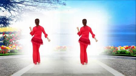 红领巾金社广场舞《映山红》编舞:夕阳美
