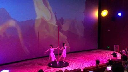 梦里水乡空中舞蹈工作室—双人钢管舞表演(神