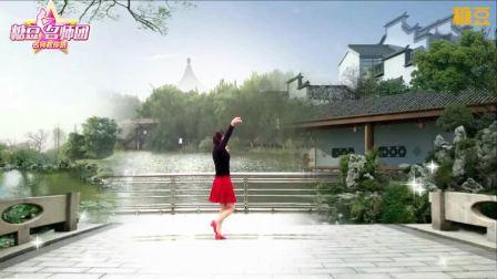 青儿广场舞 望着月亮想着家 中老年广场舞视频教学分解 附正背面示范