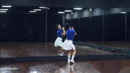 珊珊广场舞 爱情三十六计 正背面示范 简单入门动感活力舞动作分解教学视频