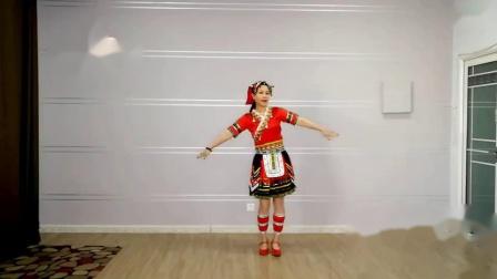 云裳广场舞《溜溜子十三寨》梅子老师原创民族舞附分解