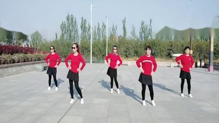 海原新区雪雪广场舞广场舞