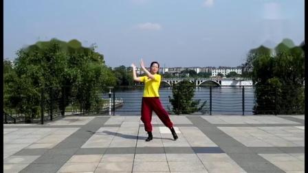 江西鹰潭烟雨谣·广场舞《我爱民族风》编舞:无边 瓦瓦