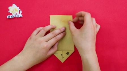 半张纸做的简易翅膀,竟然会动起来