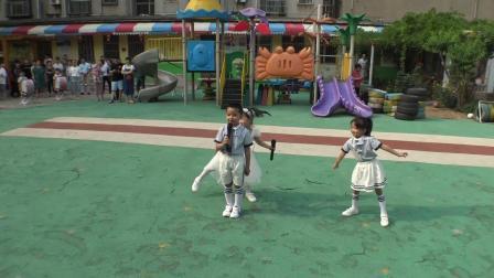 (一)2019年6月17日淄博市文化局幼儿园升国旗仪式(大四班)