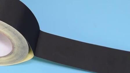 黑色醋酸胶布 液晶屏维修 汽车排线线束包扎固定 耐高温绝缘胶带 电子元件电工捆扎单面特粘高粘胶布