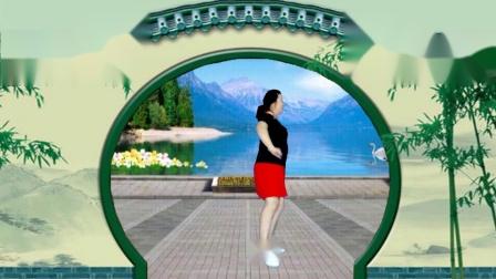 宜阳明萱广场舞妹妹你是我的人网红流行欢快轻松32步