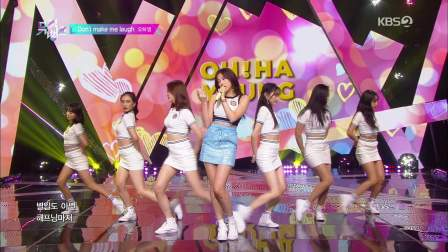 Oh Ha Young (A-Pink) - Don't Make Me Laugh (190906 KBS Music Bank).1080p