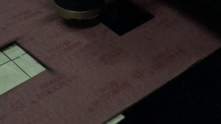 硬鞋材紙板在激光下面還不是老老實實!這效率和精度太完美了!