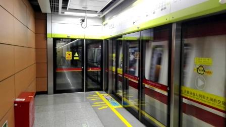 广州地铁广佛线南延段(变声小红帽)出南桂路站