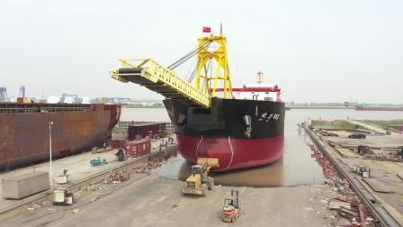 賦力882 輪船下水