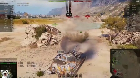 坦克世界-神操作268V4万伤玩法