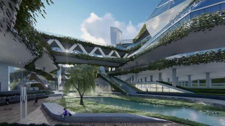 深圳小梅沙停车楼项目视频