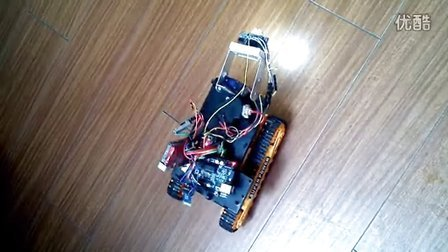 arduino智能小车系统 蓝牙控制 超声波测距