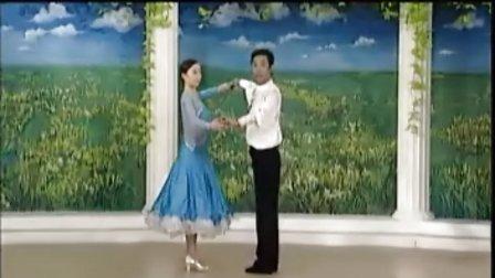 杨艺教你跳探戈14世纪舞步 扇形打开
