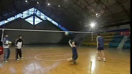 排球视频教学:31(平拉开、二传、战术)