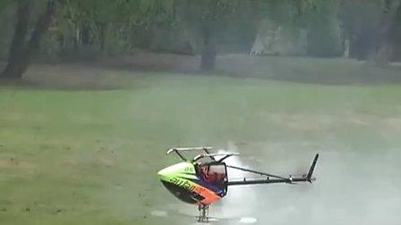 杭州航模-油动50级直升机3D飞行
