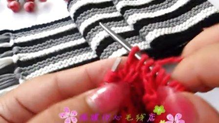 第99集 四叶幸运花帽子的编织方法 手工编织棒针图解花样 温暖你心