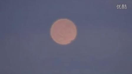 2015年8月8日橙色放大光球UFO的图片