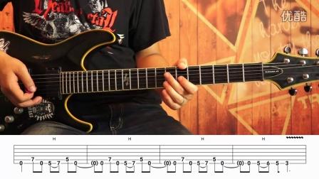电吉他教学 乔伊重金属节奏吉他第四十五节 节奏模式