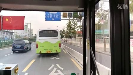 上海巴士二公司龙华车队92路B线公交车[常规配车]Z2C-0067(王健明师傅驾驶)上海体育场→九亭